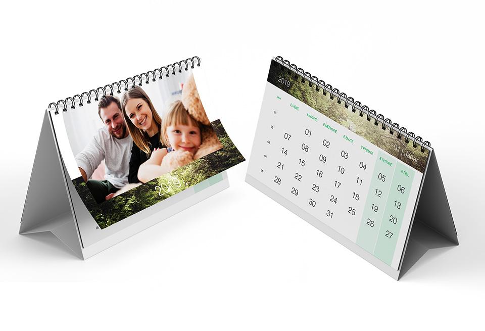 Kalendar personal tavoline