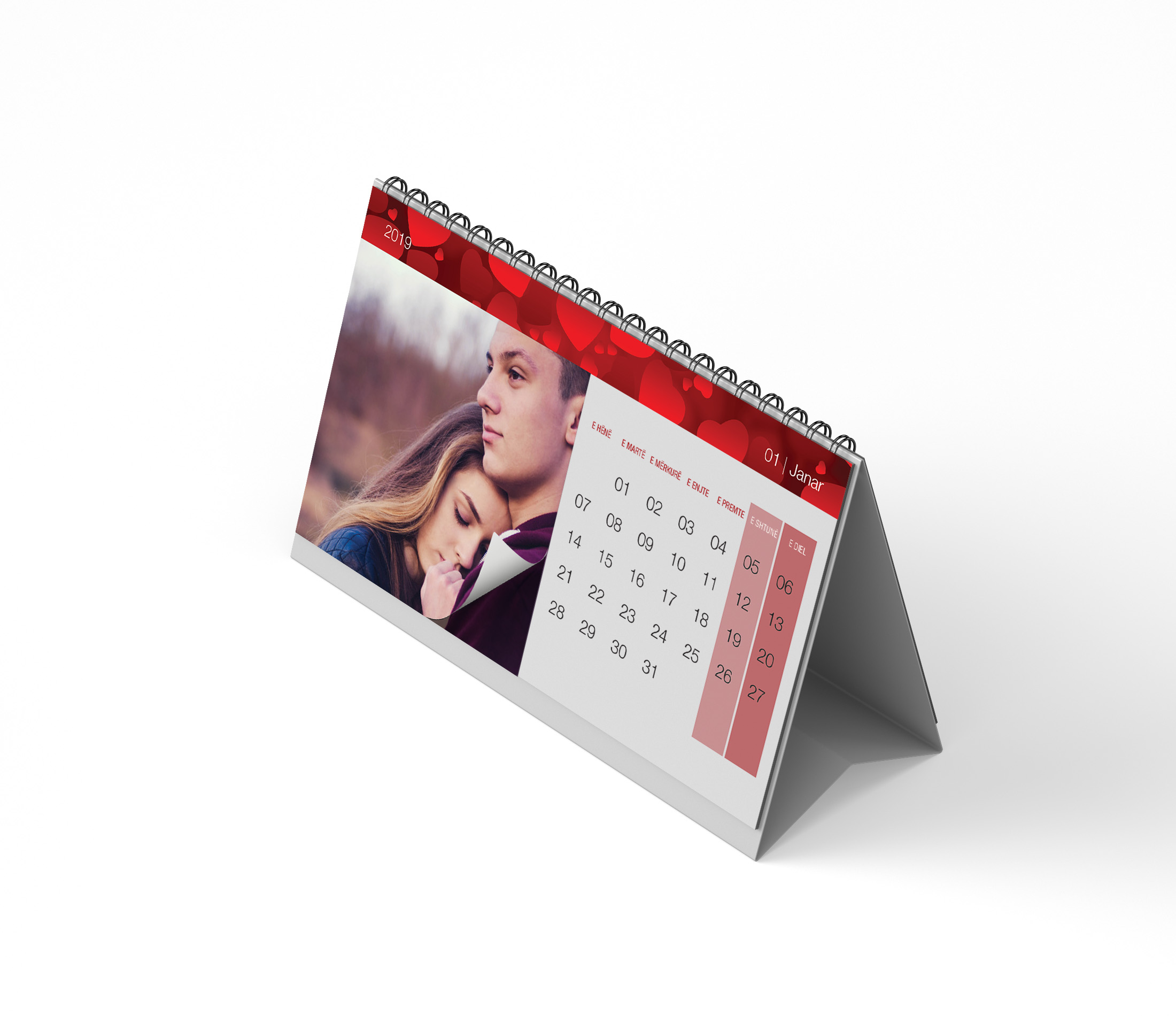 Personalised Calendar for your Love