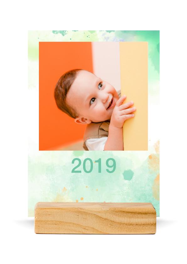 Personalised Calendar Wood holder